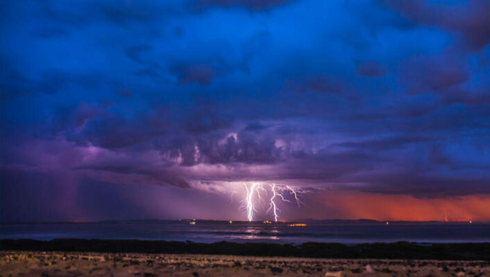Thunder over Jeffreys Bay